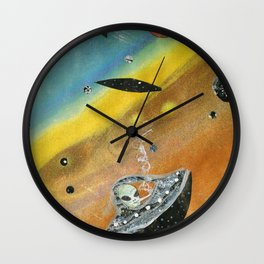 Space Trippin Wall Clock
