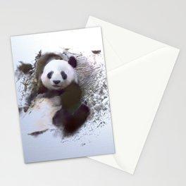 Animals and Art - Panda Stationery Cards