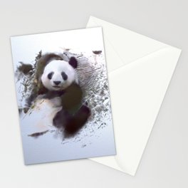 Animals and Art - Panda Stationery Cards