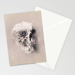 Decay Skull Light Stationery Cards