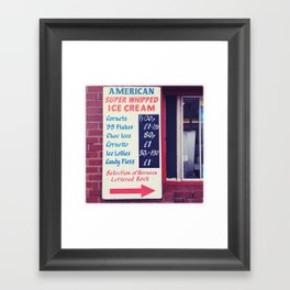American Super whipped Framed Art Print