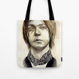 Tommy Boy within flowing pattern Tote Bag