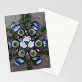 Nature Mandala: April Stationery Cards