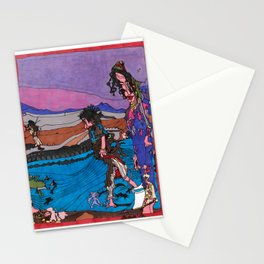 Beach Combers Stationery Cards