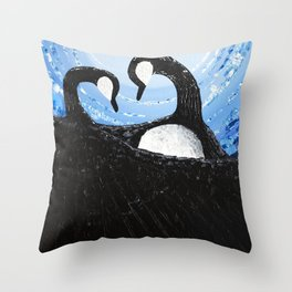 Taapituiwiin (Equality) Throw Pillow
