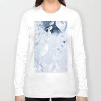 crystals Long Sleeve T-shirts featuring Crystals by Mauricio Santana