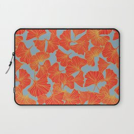 Tumbling Ginkgo Red Laptop Sleeve