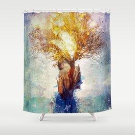 Forgiveness Shower Curtain