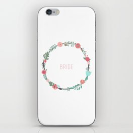 Bride To Be iPhone Skin