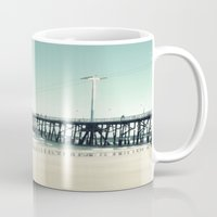 boardwalk empire Mugs featuring Boardwalk by Sweet Moments Captured