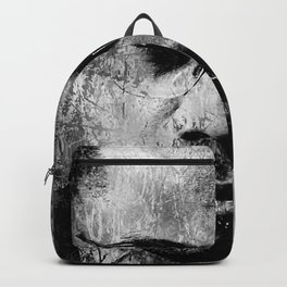 MALCOLM X (BLACK & WHITE VERSION) Backpack