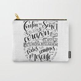 Confía en el Señor - blanco Carry-All Pouch