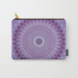 Lilac Mandala Carry-All Pouch