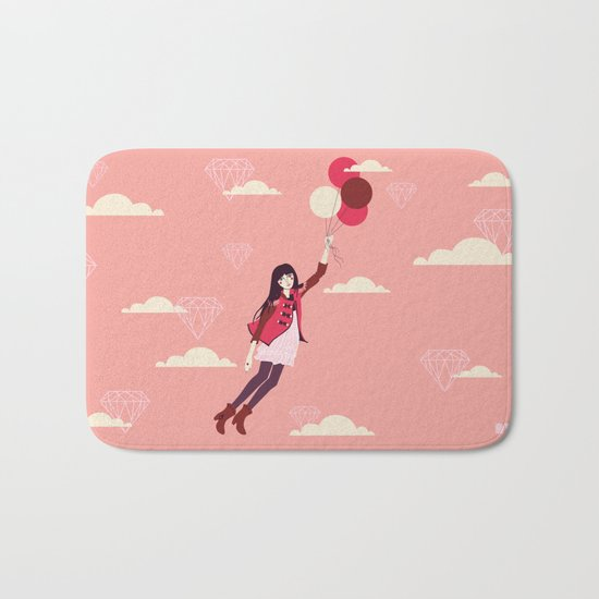 Lucy in the Sky Bath Mat