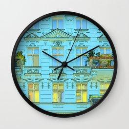 Residential house in Berlin Wall Clock