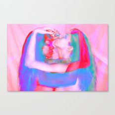 Neon Females Canvas Print