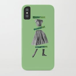 Girly Green iPhone Case