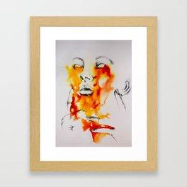 semi living Framed Art Print