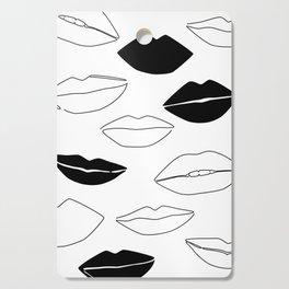 Dark Kisses Cutting Board