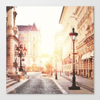 budapest Canvas Prints featuring Budapest by Giulia Squillace