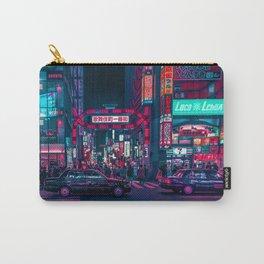 Cyberpunk Tokyo Street Carry-All Pouch
