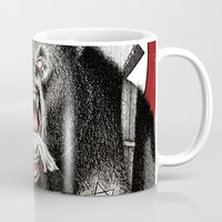 tarantino Mugs featuring Inglourious Basterds (Quentin Tarantino) The Bear Jew by ARTbyGB