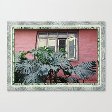 KATHMANDU WALL AND WINDOW Canvas Print