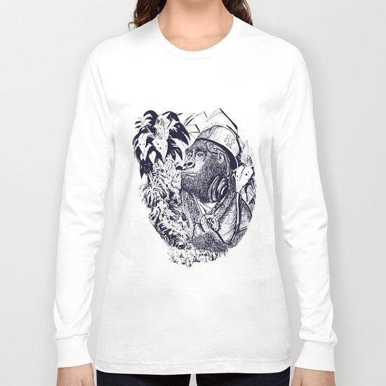 jungle kong Long Sleeve T-shirt