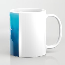 The little sperm whale and the fish Coffee Mug