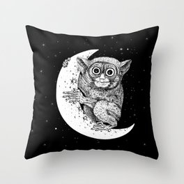 The Nocturnal Throw Pillow