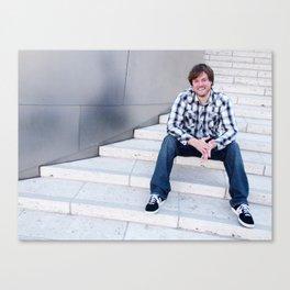 Brock Wilbur September Stairs Canvas Print