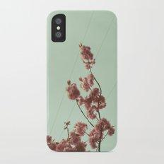 Cherry Blossom Slim Case iPhone X
