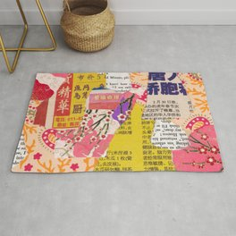 Colorful Collage Rug