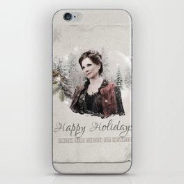 OUAT HAPPY HOLIDAYS // CORA iPhone Skin