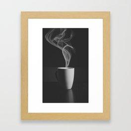 Just Cofee Framed Art Print