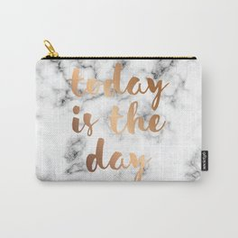 Today Is The Day Marble 046 Carry-All Pouch