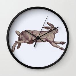 Running Bunny January 2017 Wall Clock