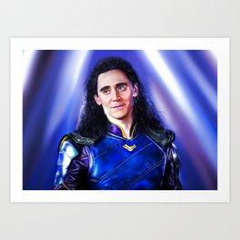 Loki - Ragnarok V Art Print