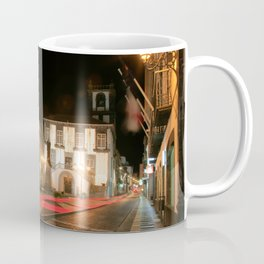 Ponta Delgada at night Coffee Mug