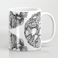 sunflowers Mugs featuring Sunflowers by Natalie Berman