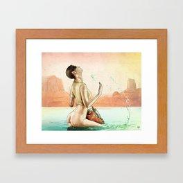 Furiosa's First Bath Framed Art Print