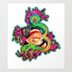SnakeEyes Art Print