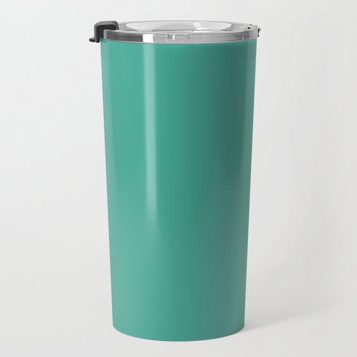 Boca Solid Shades - Seafoam Travel Mug