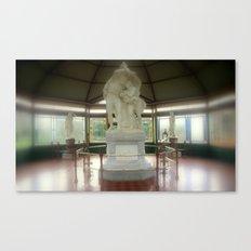 Flight from Pompeii Canvas Print