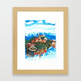Lake Bled Framed Art Print