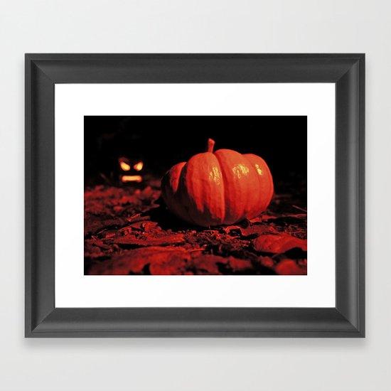 October surprise Framed Art Print