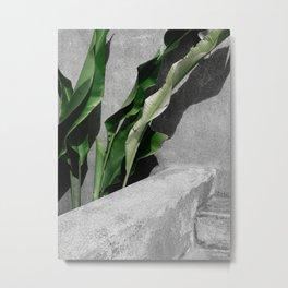 By The Leaves Metal Print