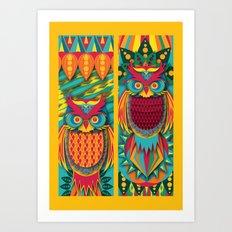 Owl's Art Print