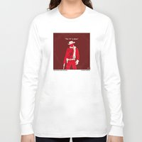 dentist Long Sleeve T-shirts featuring No184 My Django Unchained minimal movie poster by Chungkong