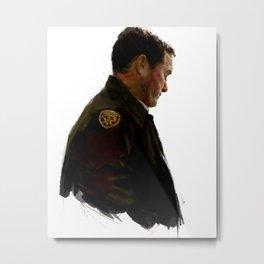 The Sheriff Metal Print